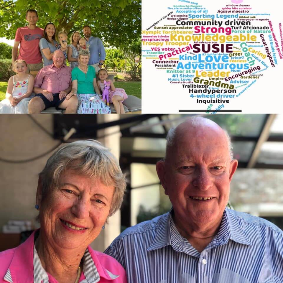 Sue Waite and family